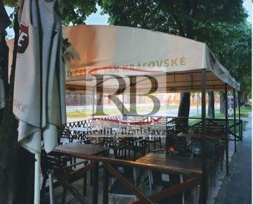 Odstúpenie priestoru na reštauráciu/piváreň/kaviareň aj s terasou