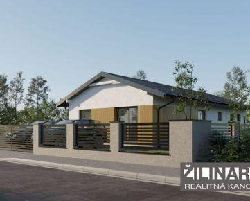 REZERVOVANÉ Predaj novostavby 4-izbových  rodinných domov Kotešová