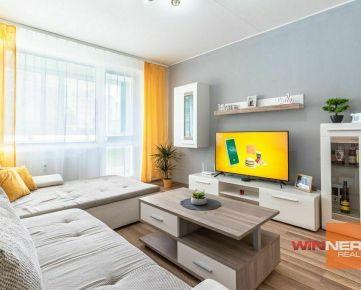 REZERVOVANÉ - Moderný a priestranný 2 izb. byt s loggiou - KE - Jegorovovo námestie