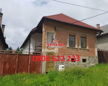 Predaj rodinného domu v rekonštrukcii v Pohorelej