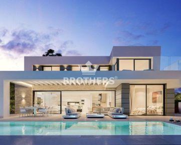 Predaj - Exkluzívna 7 izbová dvojpodlažná vila – Marbella - Španielsko