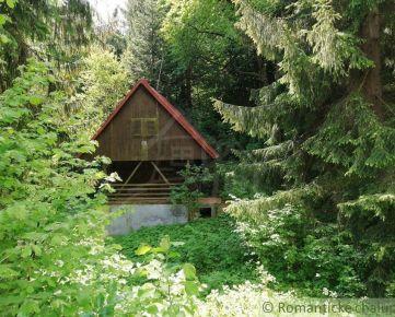 Chata v lese pri lyžiarskom stredisku Králiky