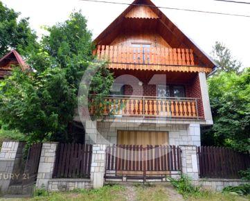 Chata v zajatí prírody s možnosťou celoročného bývania – Nižná Hutka