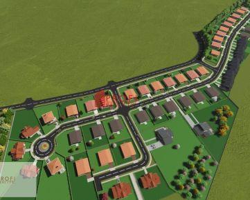 Ponuka pozemkov v novovybudovanej štvrti mesta