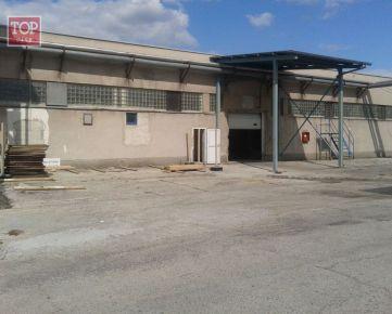 Prenájom skladové priestory, Nové Zámky,bývalý Milex, 684 m2.