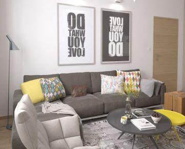 4i byt s dvoma balkónmi Zelené Vlčince /C.301