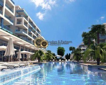 Apartmány v krásnom novom rezidenčnom komplexe v Turecku - Alanya