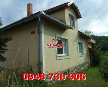 Na predaj rodinný dom v obci Ladzany - EXKLUZÍVNE