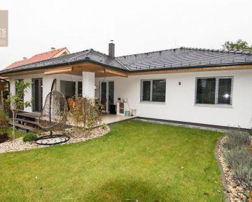 PREDAJ, novostavba 5 izbového bungalovu v top štandarde, Stupava