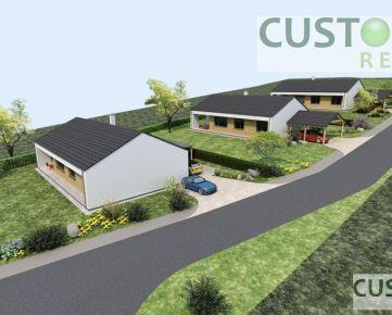 Novostavby rodinných domov v obci Kunerad
