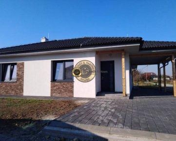 Novostavba RD typu bungalov, mestská časť Košice-Barca, 108 m2