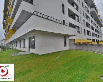 RNAVA REALITY - ARBORIA - LUXUSNÝ 3-i byt, 2X garážovým státim + veľká zelená terasa