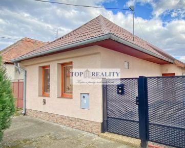 Predaj zrekonštruovaného rodinného domu Topoľčianky, okres Zlaté Moravce