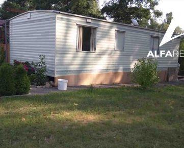 Na predaj bezbariérový mobilný 3 izbový dom v areály termálneho kúpaliska Chalmová, okres Prievidza