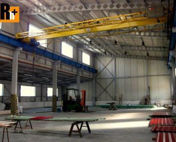 Na predaj priemyselný areál Prievidza - výrobná hala - 1900m2