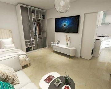 1 izbový byt ul. Watsonova,  37 m² + LOGGIA. VIZUALIZÁCIA