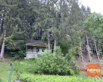Na predaj rekreačná chata s pozemkom 1762m2 vo Vyšnom Matejkove - Ružomberok