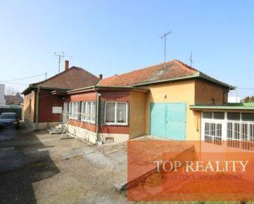 4 izbový prízemný rodinný dom 192m2 priamo v meste Galanta 137.000 €