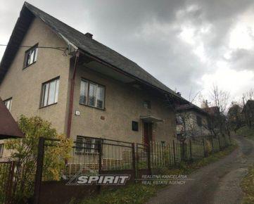 REZERVOVANÉ Rodinný dom - Malé Borové - okres Liptovský Mikuláš