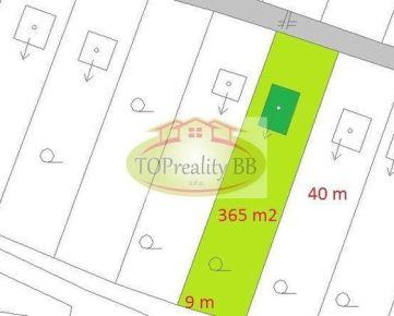 Rezervované !!!   Chatka  s pozemkom 365  m2 –  Banská Bystrica  -  Cena -  19 500 €