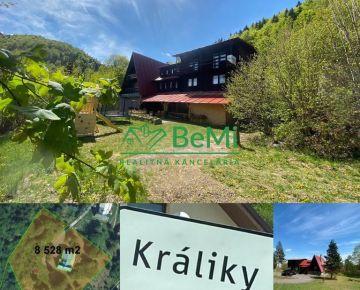 Pozemok 8 528 m2 v obci Králiky,okr.Banská Bystrica ID 165-14-MIG
