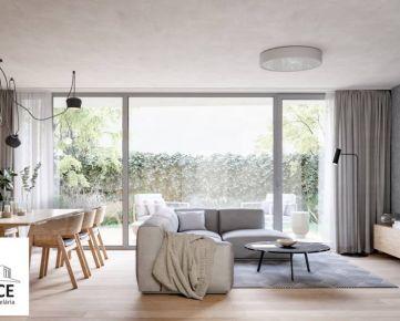4-izbové byty v jedinečnom projekte rodinného VILADOMU, BA-Priehradná