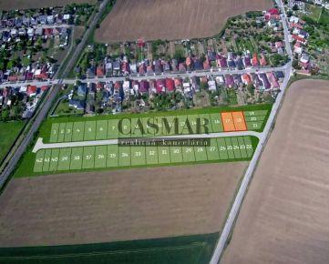 CASMAR RK - Stavebný pozemok so všetkými IS v novej lokalite 532 m2