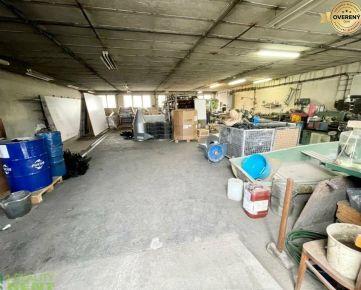 Na prenájom skladový, výrobný priestor 175 m2 v priem. zóne v Žiline