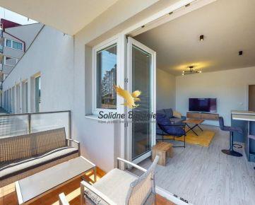 REZERVOVANÉ - EXKLUZÍVNE LEN U NÁS!! Veľký 2 izbový byt na predaj s 3D prehliadkou