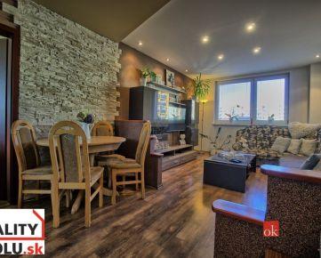REZERVOVANÝ 3-izbový byt s balkónom na ulici Uherova v Poprade