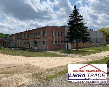 Na predaj výrobné a skladové priestory v obci Gbelce.