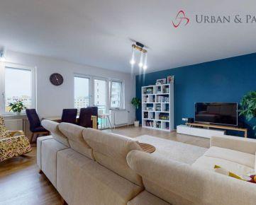 Priestranný slnečný 4-izbový byt v tichej lokalite Ružinova