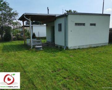 TRNAVA REALITY - ponúka na predaj záhradu s chatkou v Trnave oblasť Nemečanka