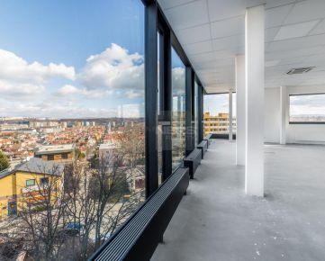 Reprezentatívne kancelárske a obchodné priestory v novostavbe s unikátnym výhľadom na mesto Košice
