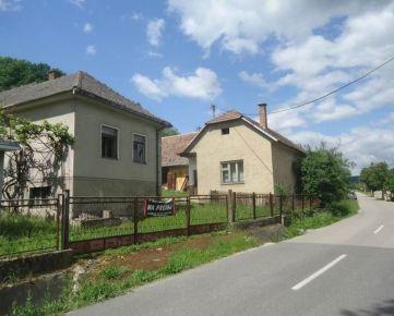 SIREAL MYJAVA - Na predaj dva domy na okraji obce REZERVÁCIA !!!