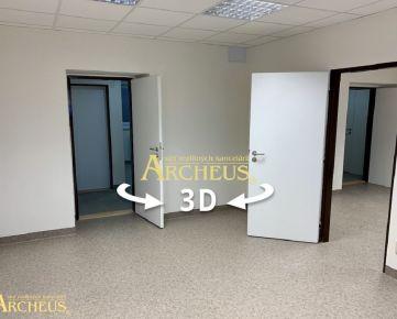 3D PREHLIADKA: KOMERČNÉ PRIESTORY NA PRENÁJOM, NOVOSTAVBA, PREŠOV