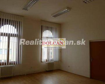 NA PRENÁJOM kancelársky priestor 60m2, pešia zóna, 2. poschodie, Nitra