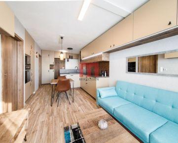 Na prenájom exkluzívny 2 izbový byt s parkovacím miestom a nádherným výhľadom v projekte Nová Matadorka