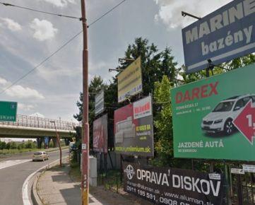 Ponúkame exkluzívne na predaj bigboardy, billboardy, megaboardy, BA II.