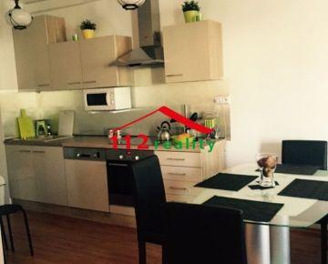 Na prenájom zariadený 2 izbový byt Bratislava-Petržalka, Budatínska, v novostavbe SOLAR.