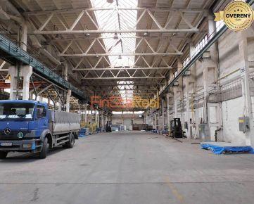 Prenájom výrobnej haly 1700 m² v Trnave