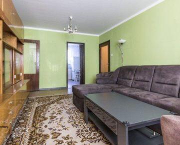 REZERVOVANÝ*3 izbový byt - BAURING s lodžiou v lokalite plnej zelene sídliska Prednádražie II na Šafarikovej ulici, dve pivnice