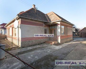 REZERVOVANÉ - Trstice: Predaj 4izb RD 140m2 pozemok 1092m2_ihneď voľný, obývateľný