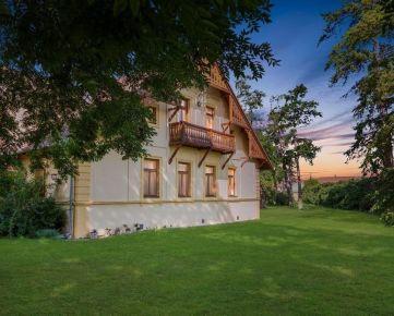 Prodej zavedeného penzionu s restaurací, velkou zahradou a bazénem v Dolních Věstonicích
