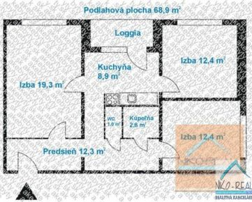 3 izb. byt, MEDVEĎOVEJ ul., zrekonštruovaný podľa Vašich predstáv