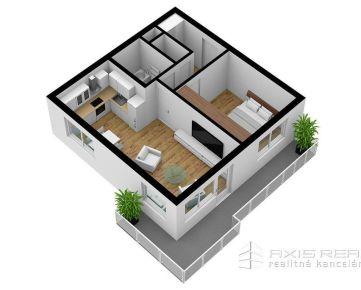 AXIS REAL:: 2-izbový byt (3A) NOVOSTAVBA, Poprad, Suchoňova ulica