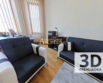 3D PREHLIADKA: PRENÁJOM KANCEL. PRIESTORY, 22 M2 a 60 M2, LEVOČS.UL.,PREŠOV