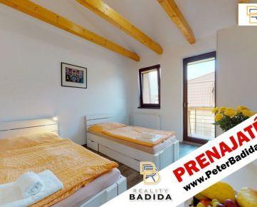 Kompletne vybavený Apartmán s balkónom, kuchynkou a kúpeľňou na Radlinského ulici v Prešove na prenájom