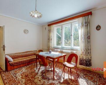 Predaj chalupy na polosamote s pozemkom 906 m2 pod lesom, Hrachovište, Myjavské kopanice