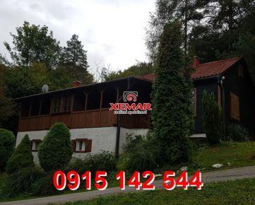 Na predaj rekreačná chata s dvomi bytovými jednotkami v obci Vyhne- EXKLUZÍVNE !!! Znížená cena !!!